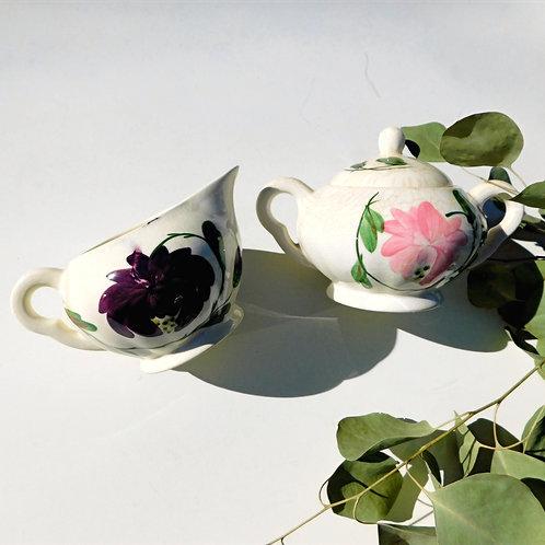 Vintage Ceramic Tea Set & Serveware (sold in individual sets)
