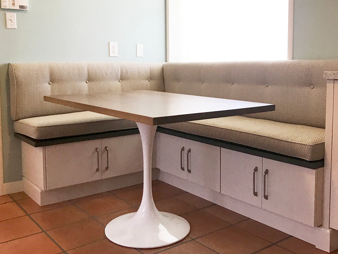 Before and After: Banquette Revamp