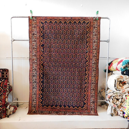 "Antique Persian Hamadan 6'9"" x 4'4"""