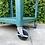 Thumbnail: Industrial Teal Weathered Bar / Shop Cart
