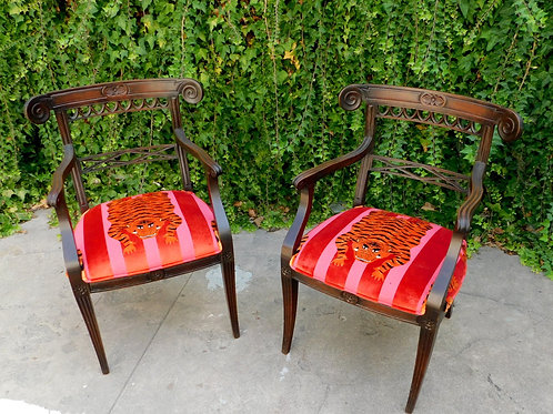 Vintage Dynasty Chairs (set of 2)