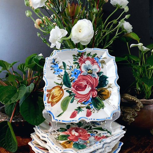 Italian Hand Painted Dishes (set of 6)