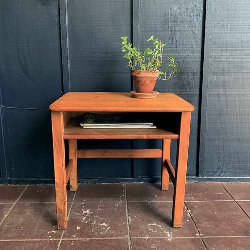 Old World School Side Table