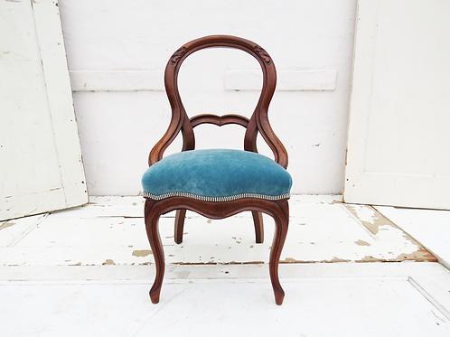 Petite Railroad Accent Chair