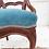 Thumbnail: Petite Railroad Accent Chair