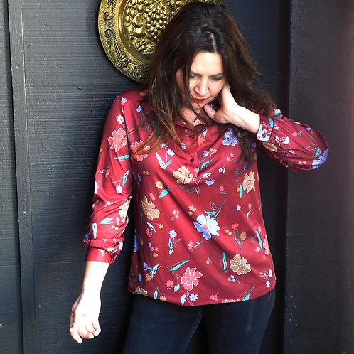 EcoBay Floral  Longsleeve Shirt