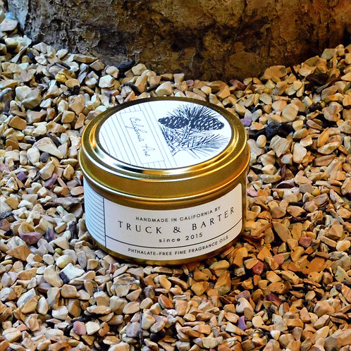 California Pine Scented Candle .6 Ounces