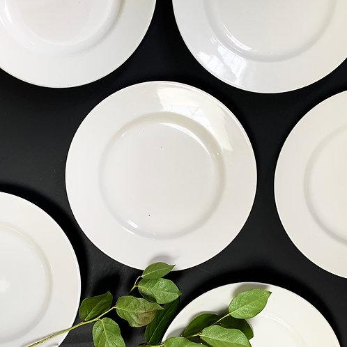 Classic White Plate Set
