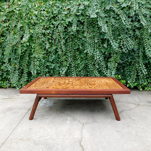 Rustic Mid Century Coffee Table