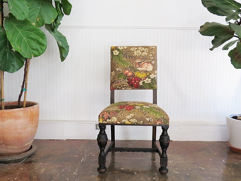 'Flora + Fauna' Oak Chair