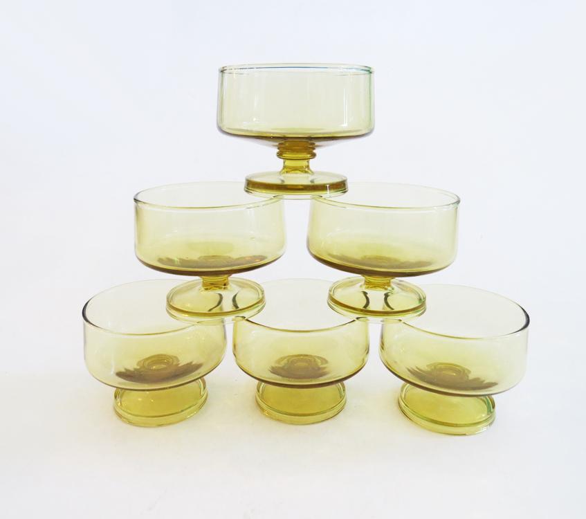 mid-century-brandy-glass-set