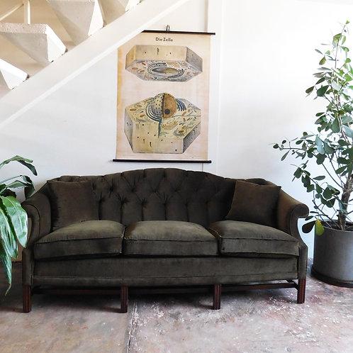 Edinburgh Tufted Velvet Sofa