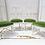 Thumbnail: Green Velvet Vintage Chairs