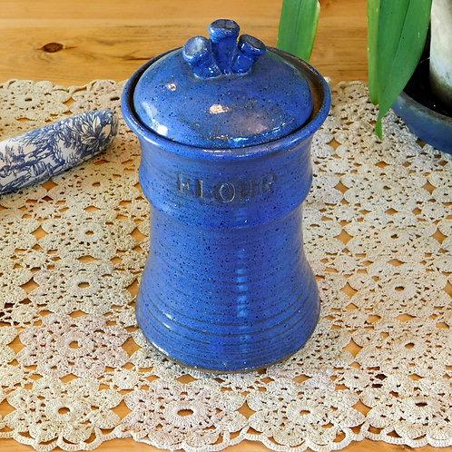 Studio Ceramic Flour Jar