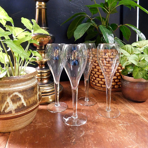 Fluted Spritzer Glasses (set of 4)