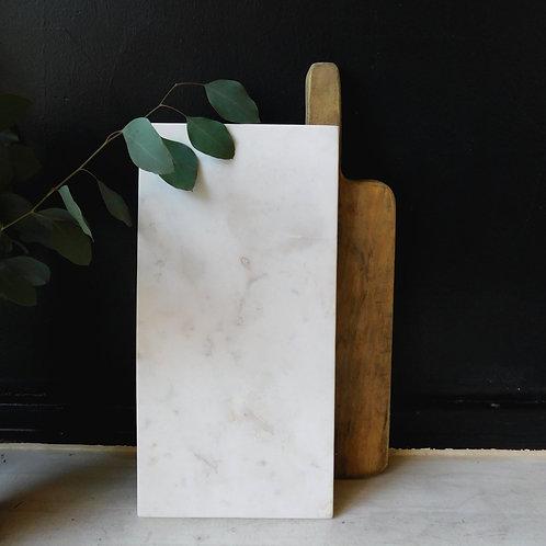 Carrara Marble Cheese & Charcuterie Platter