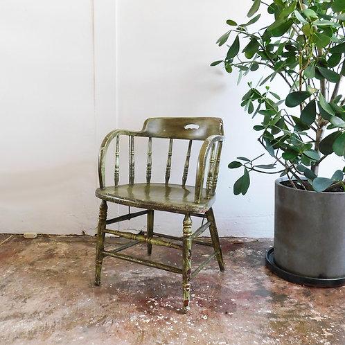 Folk Barrel Chair