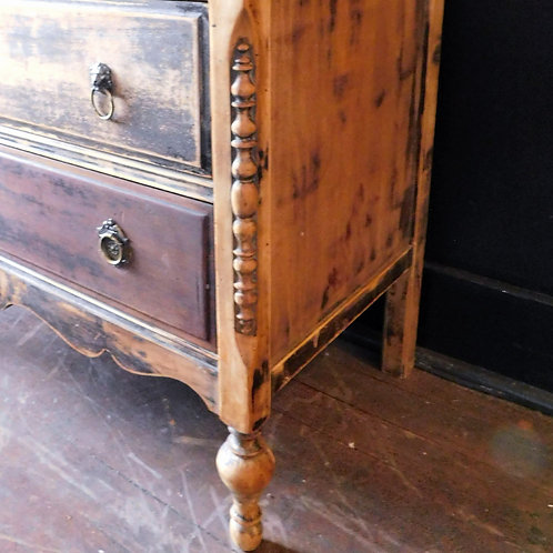 Vintage Rustic Chalet Dresser