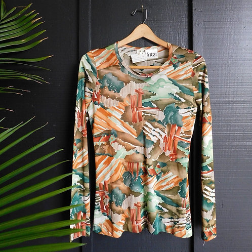 Psychedelic Foliage Shirt
