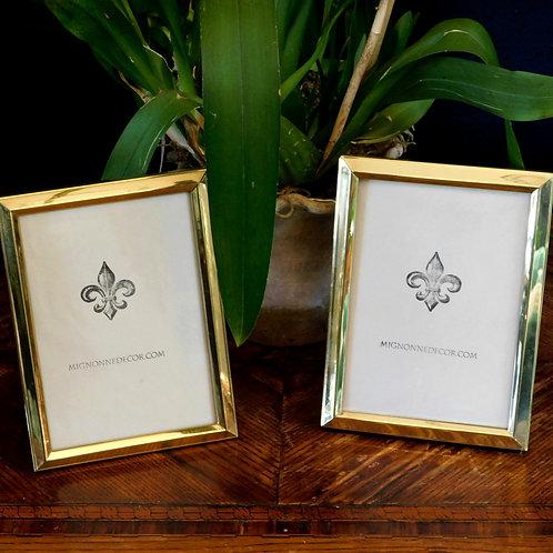 Brass 5 x 7 Frames (set of 2)