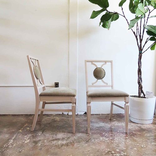 Claudine Mohair Dining Chairs