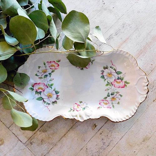 Cute Floral 1950's Dish