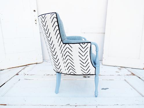 Modern MudCloth Chair