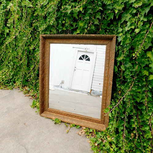 Early 1900's Gold Chippy Mirror