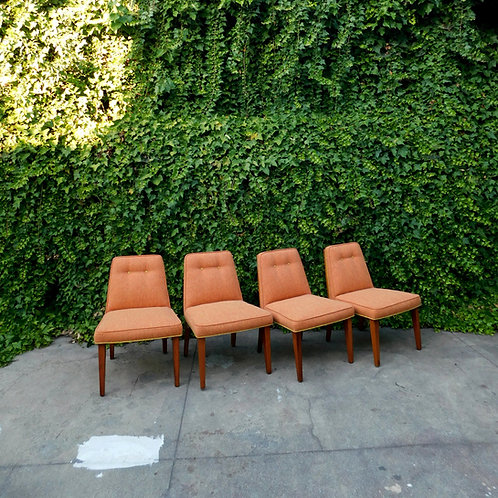 Peche Mid Century Chair (set of 4)