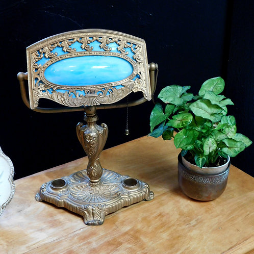 Antique French Desk Lamp