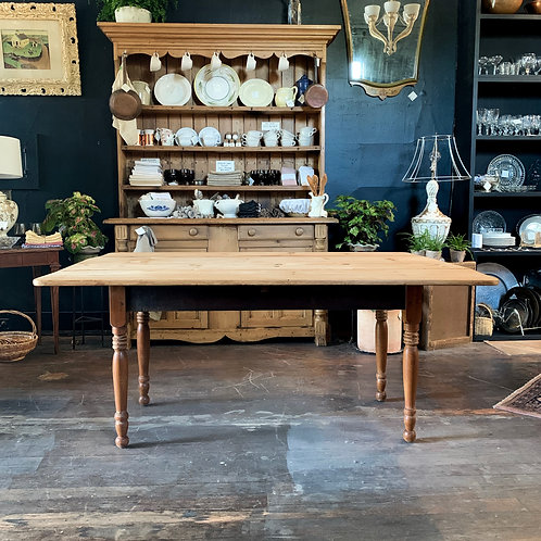 Vintage Pine Farmhouse Table
