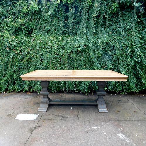 Palazzo Rustic Pine Trestle Table
