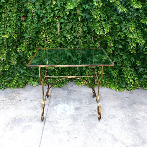 Rustic Garden Patina Coffee Table