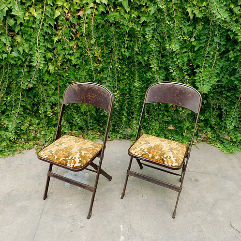 Antique Folding Chairs (sold individually)