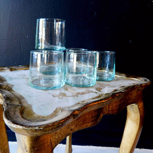 Saardé Recycled Modern Tumbler Glass (sold individually)