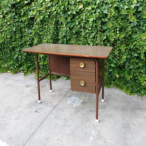 1960's Deco Style Metal Desk