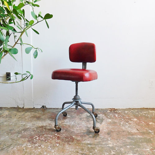 Leather Industrial Office Chair