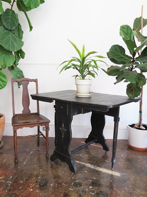 'Midnight' Antique Table