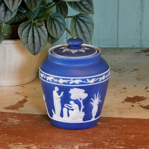Sweet Grecian Lidded Jar