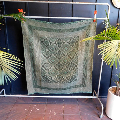 Pakistani Sage Wool Rug