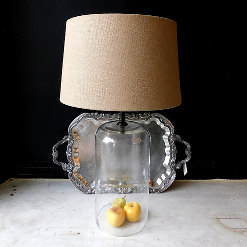 Clear Cloche Table Lamp