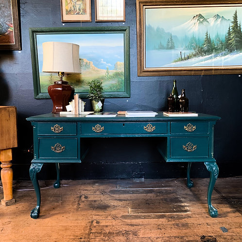 Rousseau Teal Desk