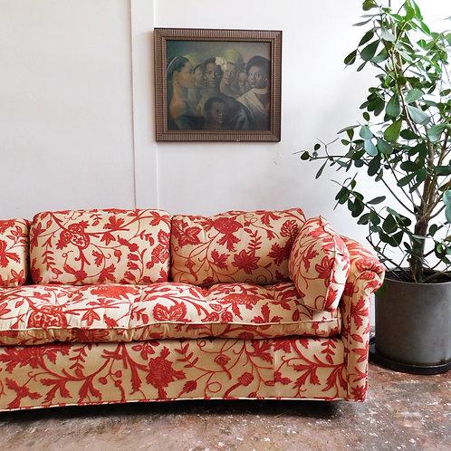 'Barcelona' Embroidered Sofa