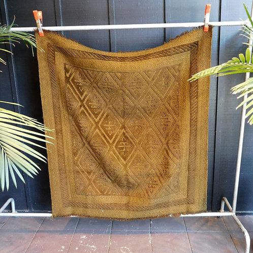 Pakistani  Olive Wool Rug