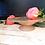 Thumbnail: Opaque Pêche Pedestal Dish
