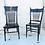 Thumbnail: Black Spindle Chair Duo