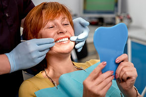 sorriso no dentista