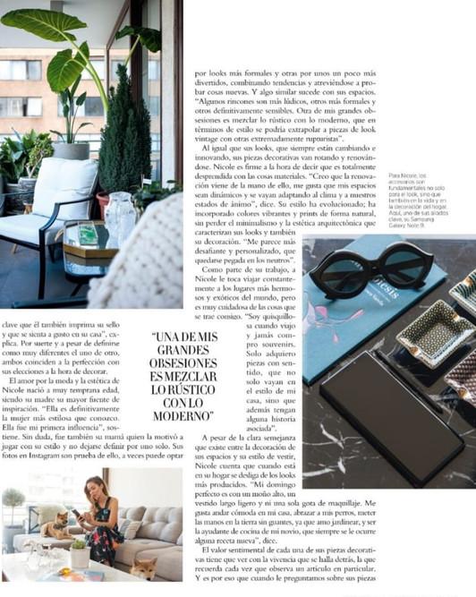 Nos mencionaron en la revista Harpers Bazar