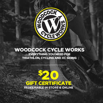 Woodcock Cycle Works $20 Gift Certificate