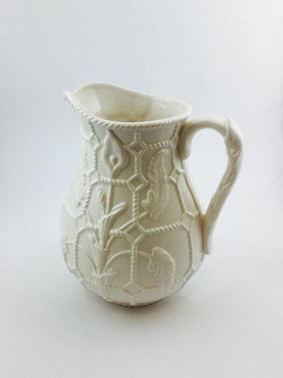 White Porcelain Pitcher